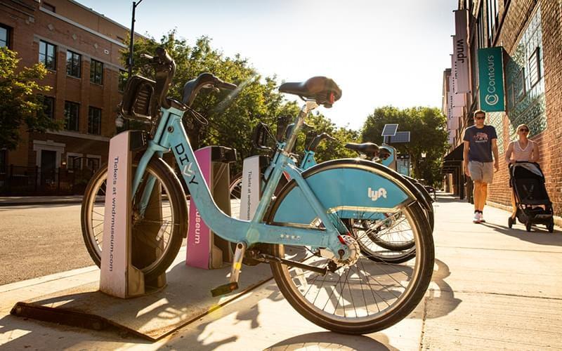 Lyft Bicycle Rental Station